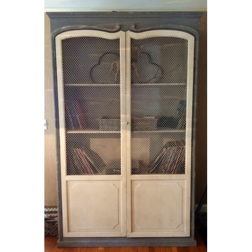Ancient french bookcase